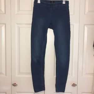 H&M Blue Jeggings Size 10